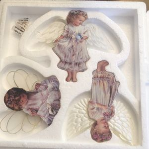 Heavens little angels ornament collection